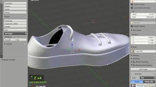 getlinkyoutube.com-Ayakkabı modelleme