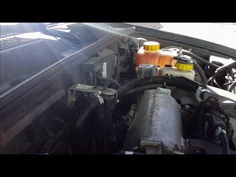 Промывка системы охлаждения Daewoo Sens (Сенс, Ланос, Шанс)
