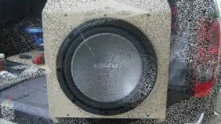 "getlinkyoutube.com-kenwood 12"" subwoofer ported box"