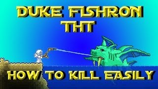 "getlinkyoutube.com-""How To Kill Duke Fishron Easily"" Terraria 1.2.4 Try ""Easy"" Tuesdays (THT) Ep.7"