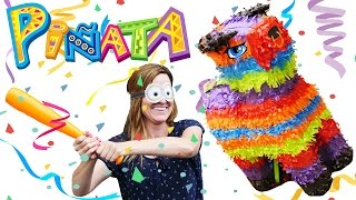 getlinkyoutube.com-Pinata Birthday Party Gift Bags * Amy Jo DIY Toys & Candy Surprise Video