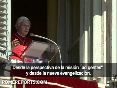 Benedicto XVI pide predicar de un modo nuevo para impulsar la Nueva Evangelizacin