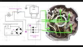 getlinkyoutube.com-Как установить генератор на мотоблок без АКБ (видеоответ- схема)
