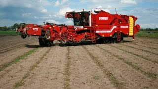 Grimme VARITRON 270 self-propelled potato harvester