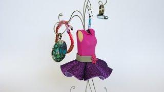 getlinkyoutube.com-Manualidades - Maniquí porta joyas - Manualidades para todos