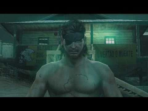Metal Gear Solid : Peace Walker Cutscenes HD 01