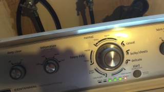 getlinkyoutube.com-How to put Maytag Washer into Diagnostic mode and run a test cycle. Washing machine