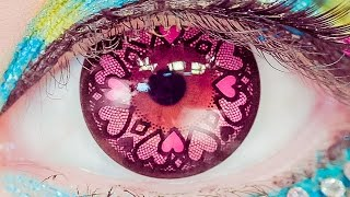 getlinkyoutube.com-Kawaii Big Eyes ART MAKEUP TUTORIAL by Japanese model Haruka Kurebayashi | 紅林大空のカワイイデカ目アートメイク講座