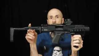 getlinkyoutube.com-Glock SBR Pistol to Carbine Conversion Review Introduction
