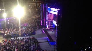 getlinkyoutube.com-Adrian Neville Debut Entrance - Monday Night Raw 03/30/15 - San Jose, CA