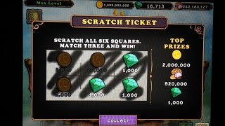 getlinkyoutube.com-OMG!!!! I Just Won 1000 Diamonds on my MSM SCRATCH TICKET!!!