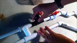 getlinkyoutube.com-Homemade 100+ psi pvc air gun