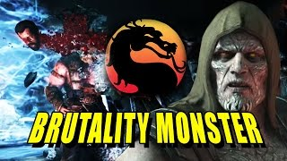 getlinkyoutube.com-TREMOR BRUTALITY MONSTER: Online Ranked Battles (Mortal Kombat X DLC)