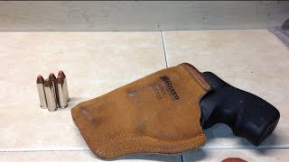 getlinkyoutube.com-Galco Stow-n-Go Holster Review Ruger LCR 357 Mag.