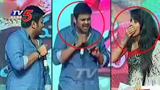 getlinkyoutube.com-Manchu Manoj Warns Anchor ANASUYA On Stage | Mama Manchu Alludu Kanchu | TV5 News