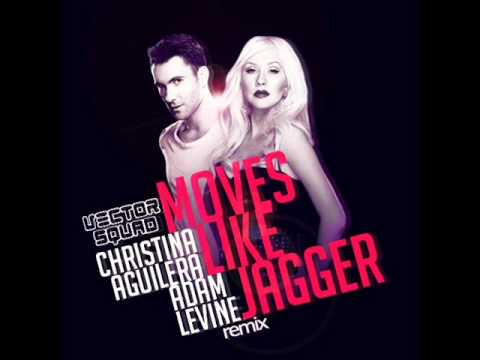 Maroon 5 ft. Christina Aguilera - Moves Like Jagger (Vector Squad Remix) V1