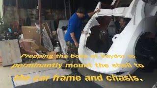 Vaydor Build, Prepping the Body