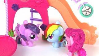 Видео для Детей. Детки Пони в Летнем Лагере. Мой Маленький Пони. Май Литл Пони Мультик
