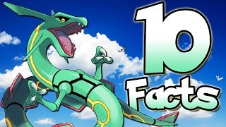 10 Facts About Rayquaza That You Probably Didn't Know! (10 Facts) | Pokemon Facts