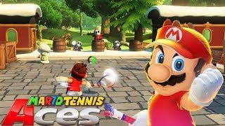 Una Aventura IMPRESIONANTE!! - MARIO TENNIS ACES: MODO AVENTURA | Nintendo SWITCH - ZetaSSJ