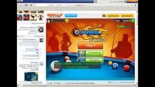 8ball pool شراء اى شئ مجانا فى لعبة