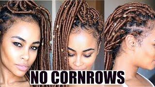 Blonde CROCHET FAUX LOCS! - NO Cornrows - FREE Parting!