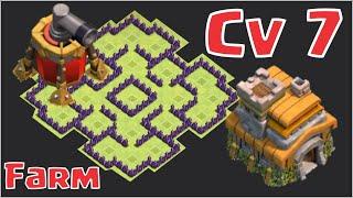 getlinkyoutube.com-Layout cv7 Farm mais epico - Clash of clans