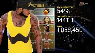 NBA 2k16 My Career Gameplay Ep. 23 - How to Get 1,000,000 Fans & Unlock ALL CONNECTIONS
