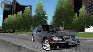 getlinkyoutube.com-City Car Driving 1.5.3 Mercedes C32 AMG W203 [G27]
