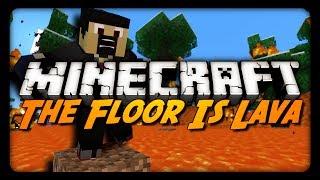 getlinkyoutube.com-Minecraft: THE FLOOR IS LAVA! (Survival Challenge Playthrough)