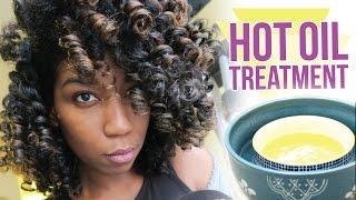 getlinkyoutube.com-DIY Overnight Hot Oil Treatment For Shiny Baby Soft Hair - Naptural85