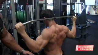 getlinkyoutube.com-Instructional Fitness - Rear Pull Downs