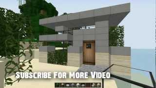 getlinkyoutube.com-[ ZCG ] Minecraft : สร้างบ้านแบบ Modern ขนาด 5x5