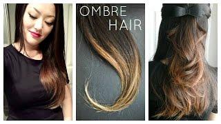 getlinkyoutube.com-DIY: Ombre | Balayage Hair at home using Box Dye!