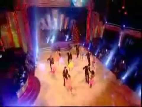 Strictly Come Dancing - Girl's Group Swing Dance - Results Show - 05.10.08
