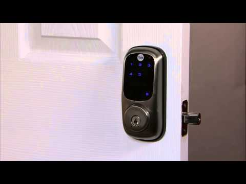 Yale Real Living Touchscreen Deadbolt Programming - Inside Indicator Light 05