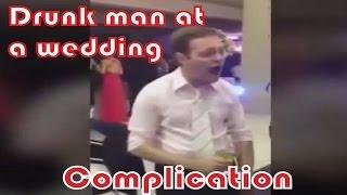 getlinkyoutube.com-Drunk man at a wedding - compilation