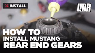 getlinkyoutube.com-Mustang Rear End Gear Installation: Ford Racing 8.8 Ring & Pinion