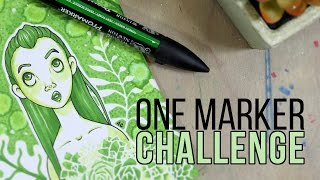 THE ONE MARKER CHALLENGE!
