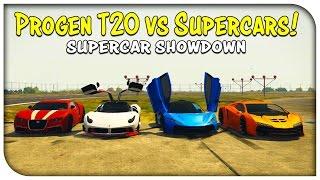 "getlinkyoutube.com-GTA 5 Online - ""PROGEN T20"" NEW BEST CAR? (T20 vs Osiris vs Zentorno vs Adder) [Supercar Showdown]"