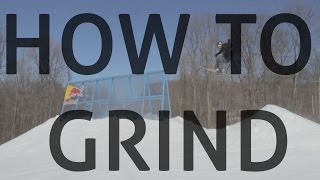 How grind on skis