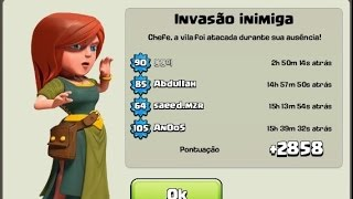 getlinkyoutube.com-Layout CV 8 Guerra / Push / Farm | Layout th8 [+2858 TROFÉUS]