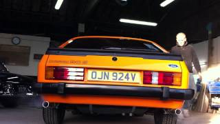 getlinkyoutube.com-Chap Foose Ford Capri 3.0s engine start up