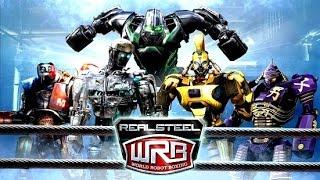 getlinkyoutube.com-Real Steel WRB RIP OFF ALL ROBOTS Series of fights NEW ROBOT (Живая Сталь)