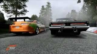 getlinkyoutube.com-Forza 4 Fast and Furious Ending Race