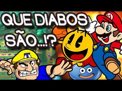 Que diabos são...Crossovers Mais Bizarros de Super Mario!?
