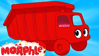 getlinkyoutube.com-My Red Garbage Truck  (+ Morphle compilation) My Magic Pet Morphle Episode #28