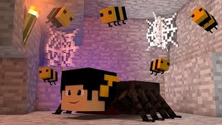 getlinkyoutube.com-Minecraft Mods: ESCADONA - Sou uma ARANHA BURRA! ‹ AM3NIC ›