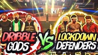 😂 HILARIOUS DRIBBLE GODS VS LOCKDOWN DEFENDERS CHALLENGE 😱 | NBA 2K17 MYPARK | WHO GOT EXPOSED !?