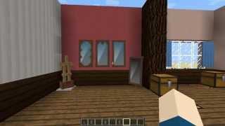 getlinkyoutube.com-【マインクラフト】バニラでカーテンや鏡を作る方法【内装】